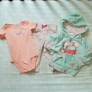 Girl's Roxy Outfit